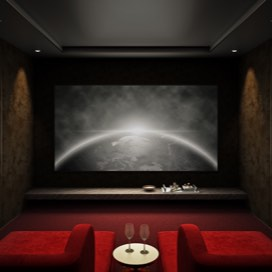 elegant home theater